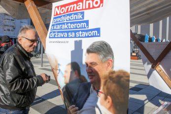 Branimir Glavaš svojedobno je dao potpis podrške kampanji Zorana Milanovića za predsjednika Republike / Foto Dubravka Petric/Pixsell