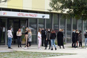 Učiteljski fakultet ponudio je 120 mjesta za upis u prvu godinu studija / Foto V. KARUZA
