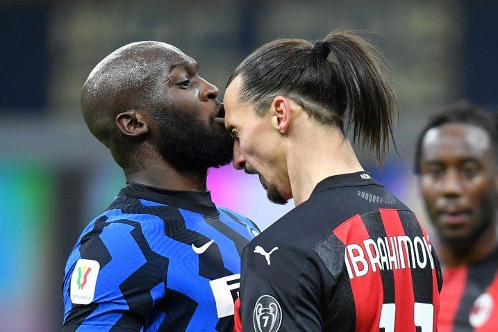 Romelu Lukaku i Zlatan Ibrahimović/Foto REUTERS