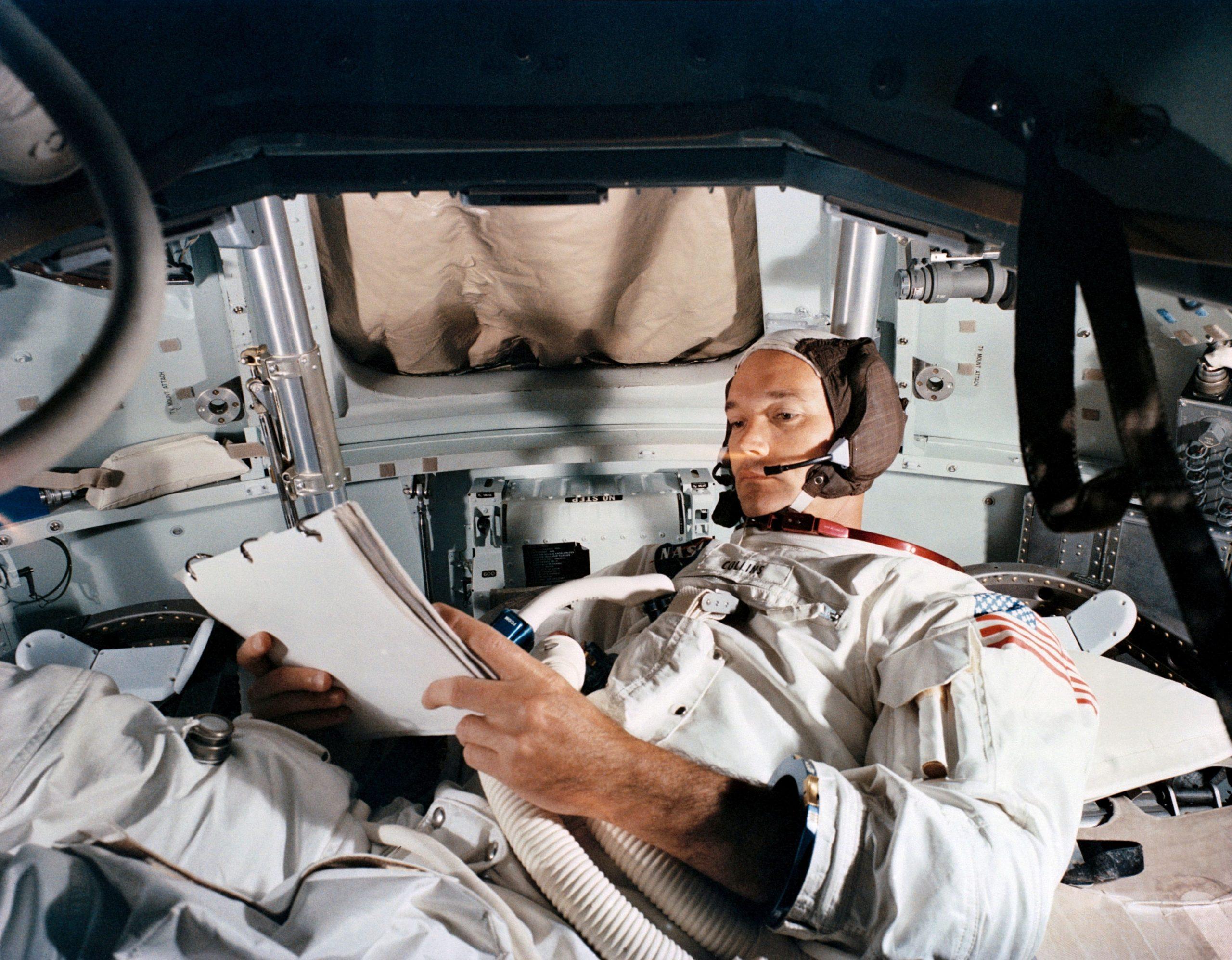 Michael Collins / Foto Reuters, NASA