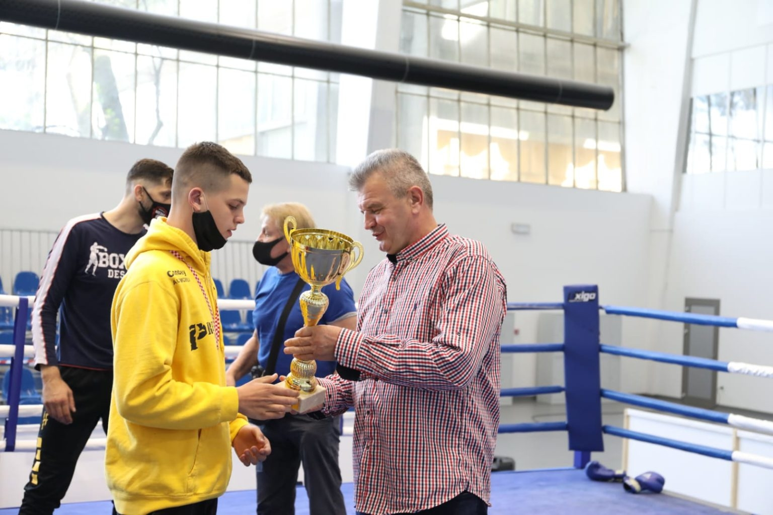 Mauro Kolenc dobio je priznanje za najboljeg boksača