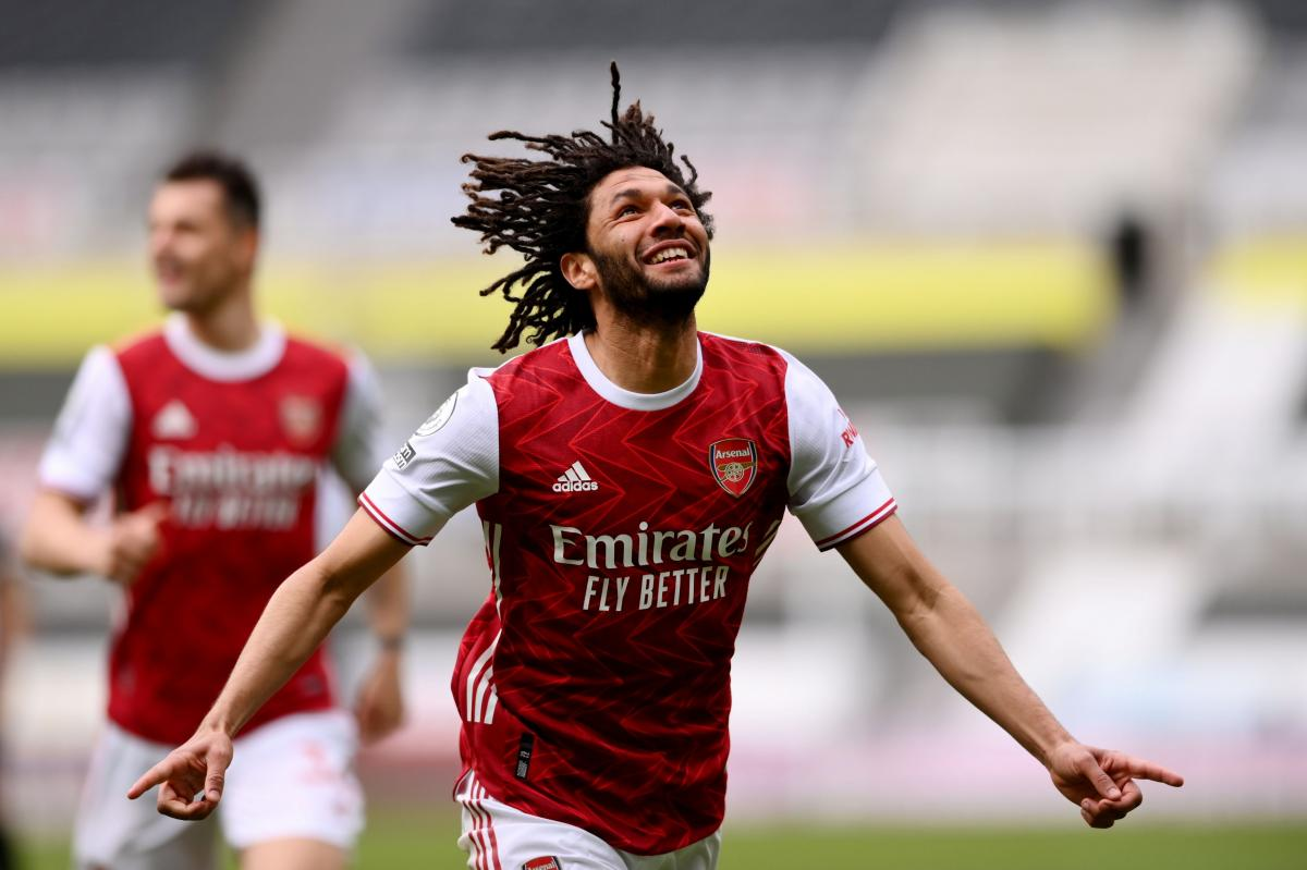 Mohamed Elneny (Arsenal)/Foto REUTERS