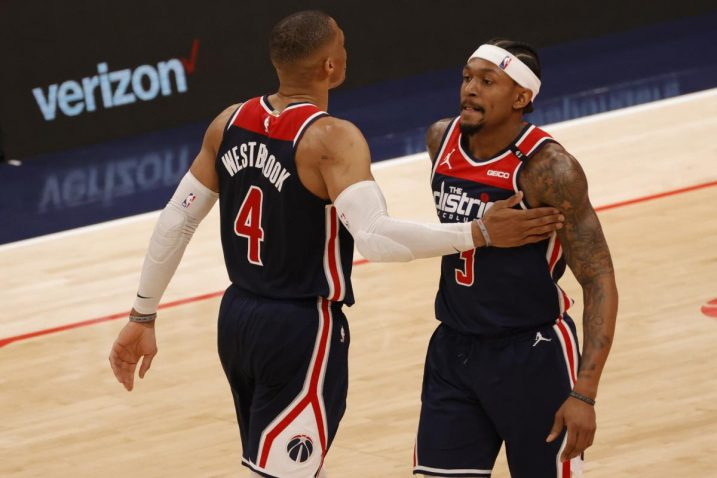 Russell Westbrook i Bradley Beal/Foto: REUTERS