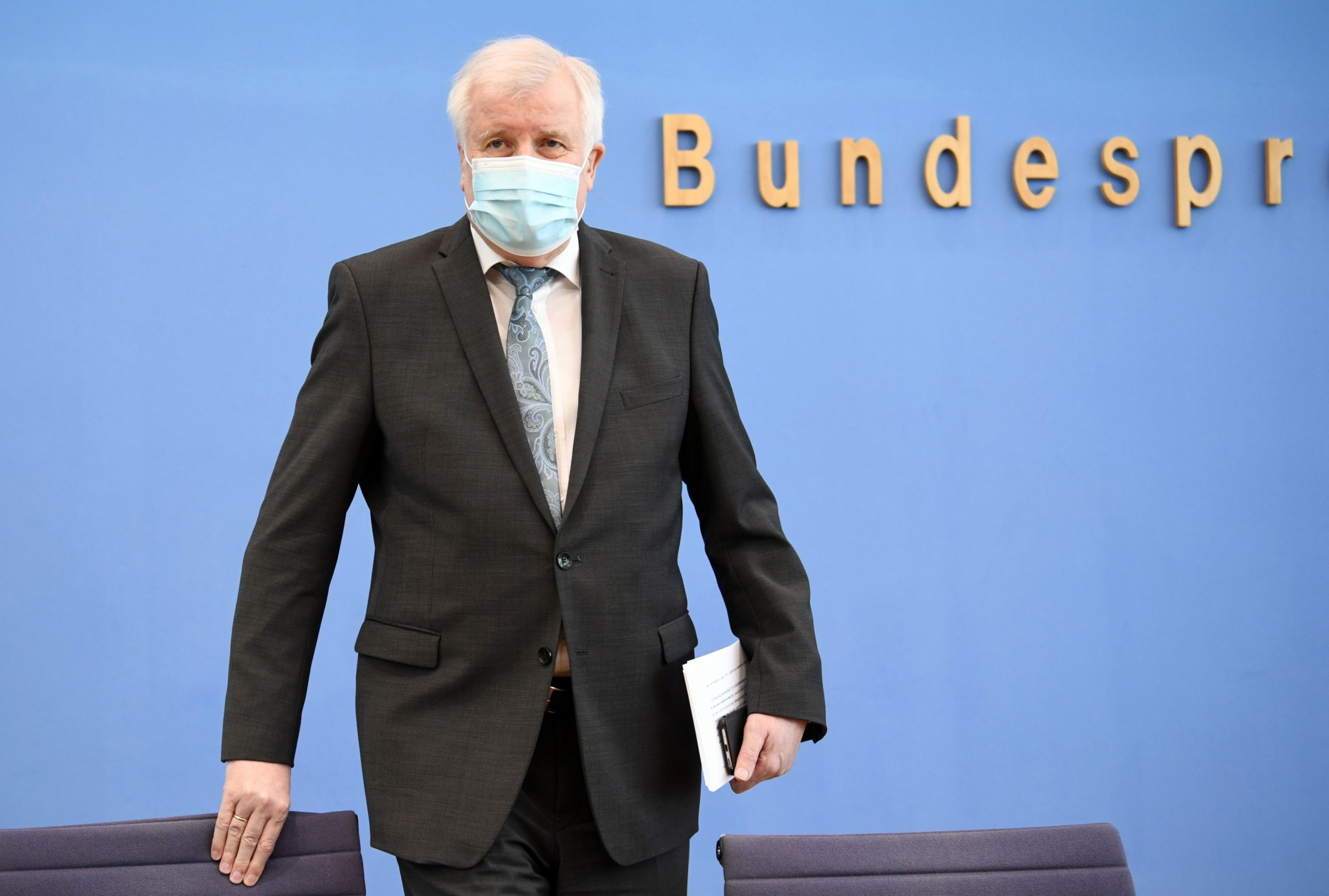 Horst Seehofer / REUTERS