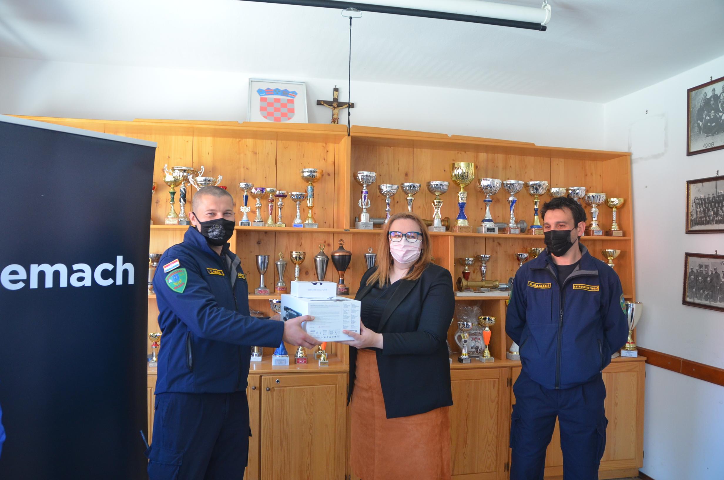 JVP Delnice najavio da će dron posuđivati policiji i HGSS-u / Foto M. KRMPOTIĆ