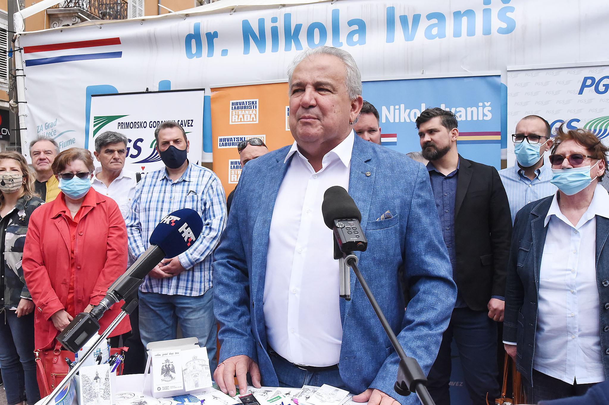 Nikola Ivaniš i suradnici / Foto Sergej Drechsler