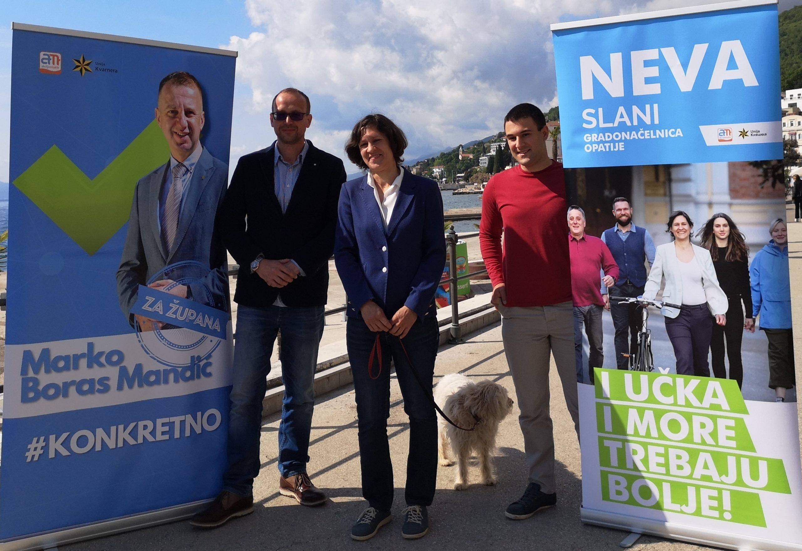 Robert Kurelić, Neva Slani i Dino Žigulić / Foto Aleksandra Kućel Ilić