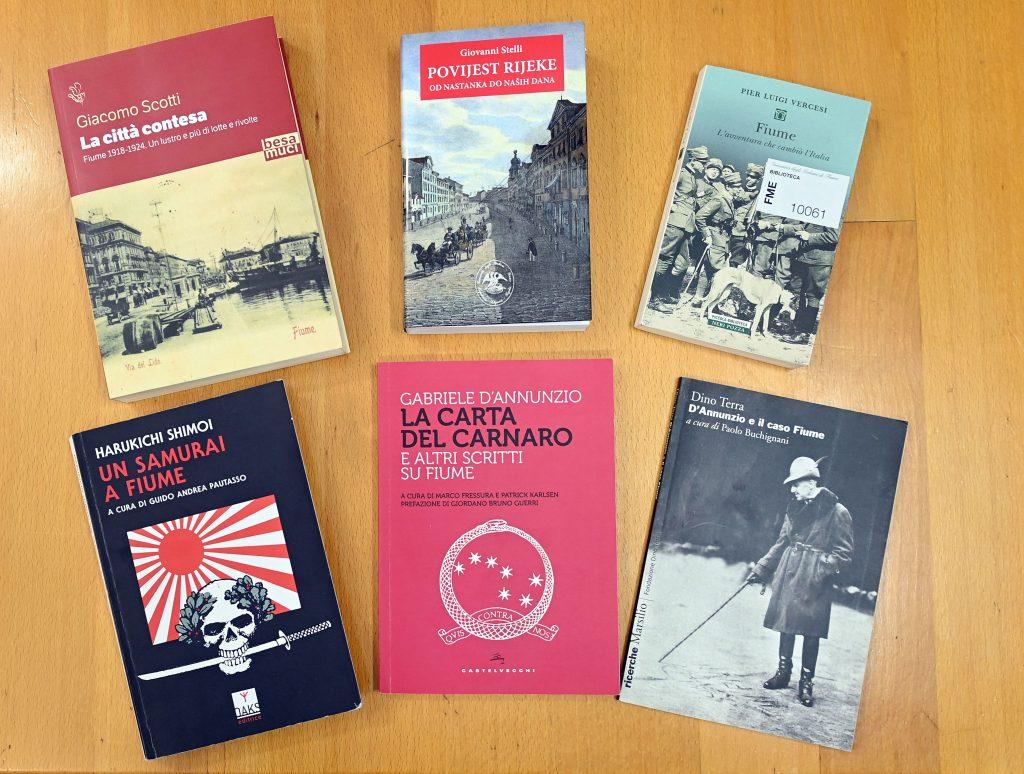 Izbor izdanja o povijesti Rijeke / Snimio Vedran KARUZA