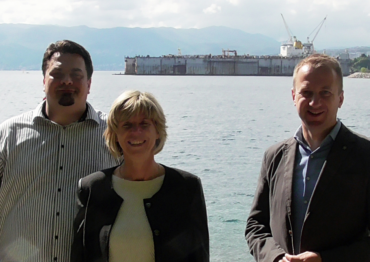 Alan Sanković, Mirela Marunić i Marko Boras Mandić