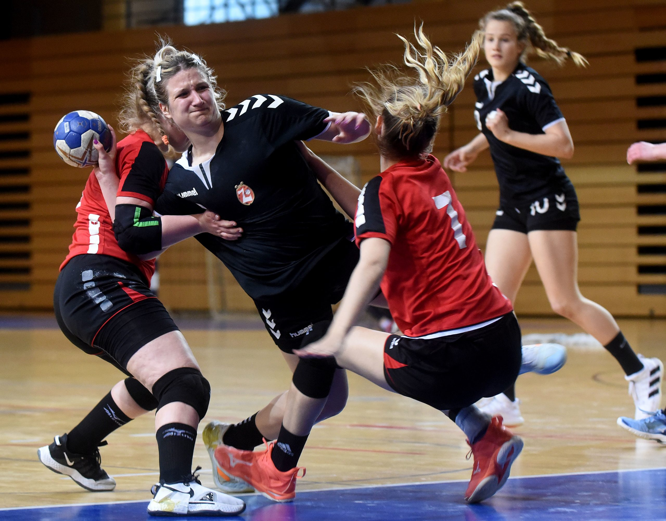 Katja Mikolić postigla je pet pogodaka protiv Opatijki/M. GRACIN
