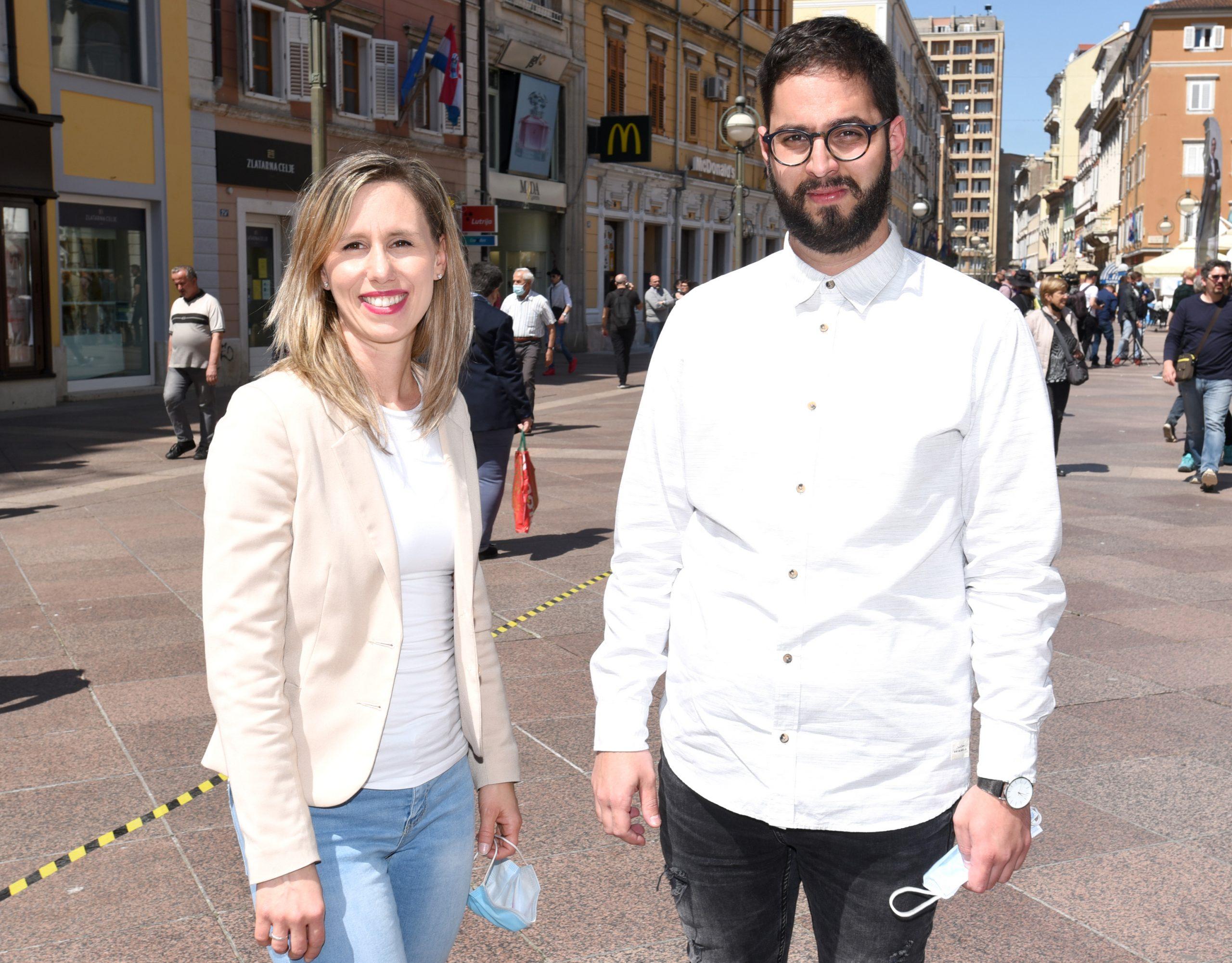 Filip Kezović i Kristina Šorić / Foto Marko Gracin