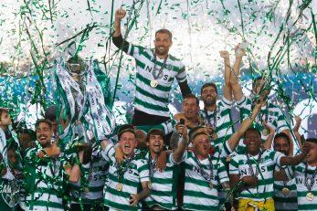 Igrači lisabonskog Sportinga/Foto REUTERS