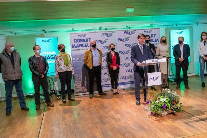 Sa završnog skupa koalicije PGS i SDP u Jelenju