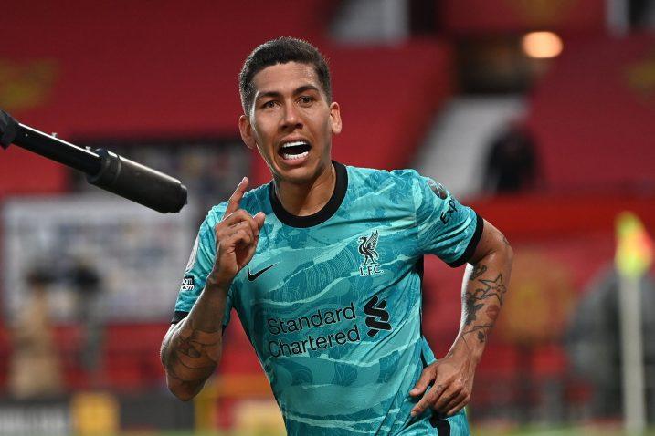 Roberto Firmino (Liverpool)/Foto REUTERS