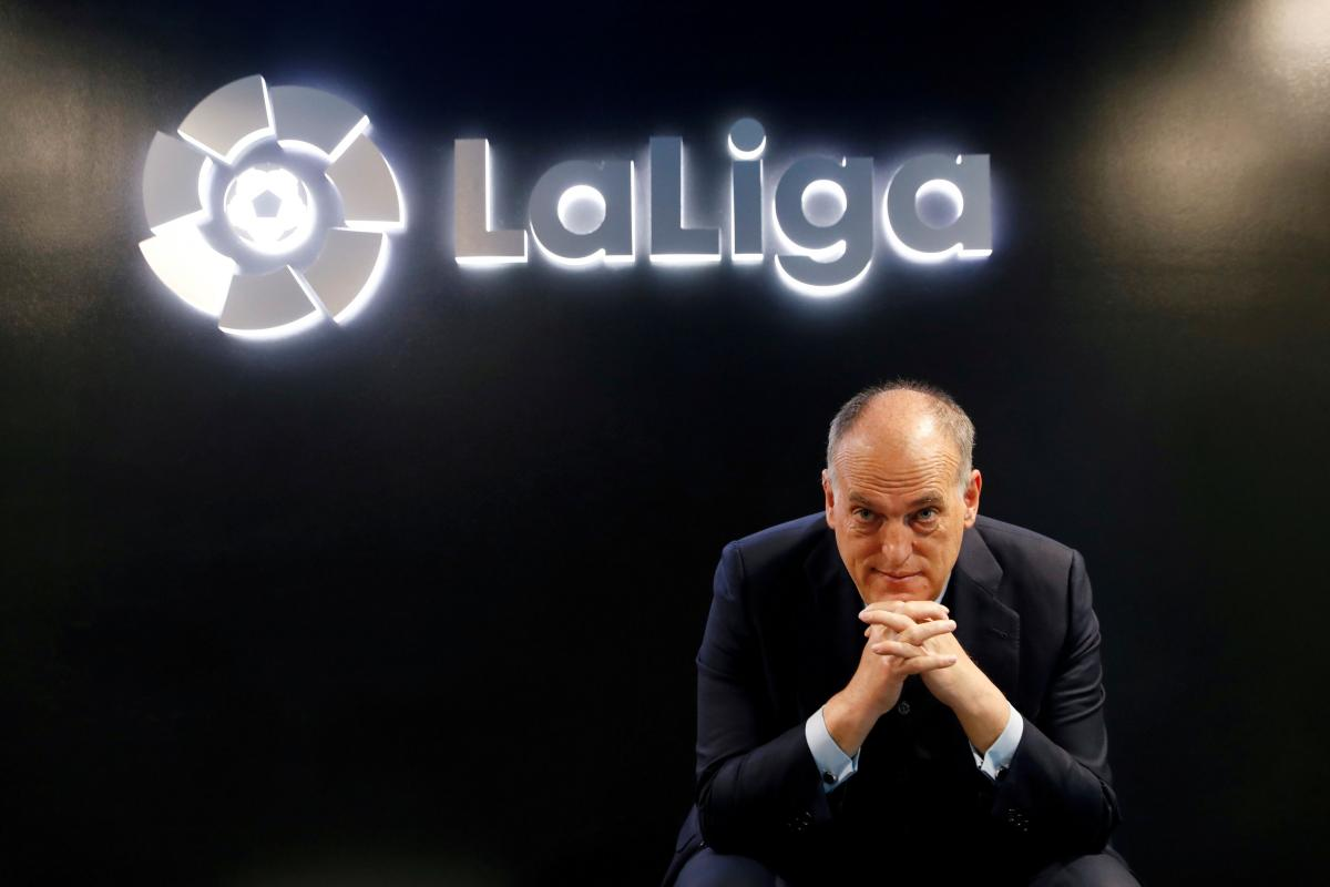 Predsjednik La Lige Javier Tebas/Foto: REUTER