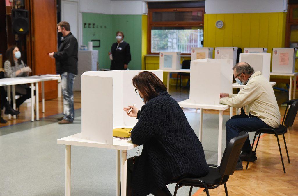 Kastav – na izborima za članove Gradskog vijeća najveći broj glasova dobila lista SDP-PGS, 46,72 posto, odnosno 8 mandata / Snimio Sergej DRECHSLER