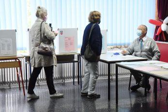 Glasovanje u Rijeci / Snimio Sergej DRECHSLER