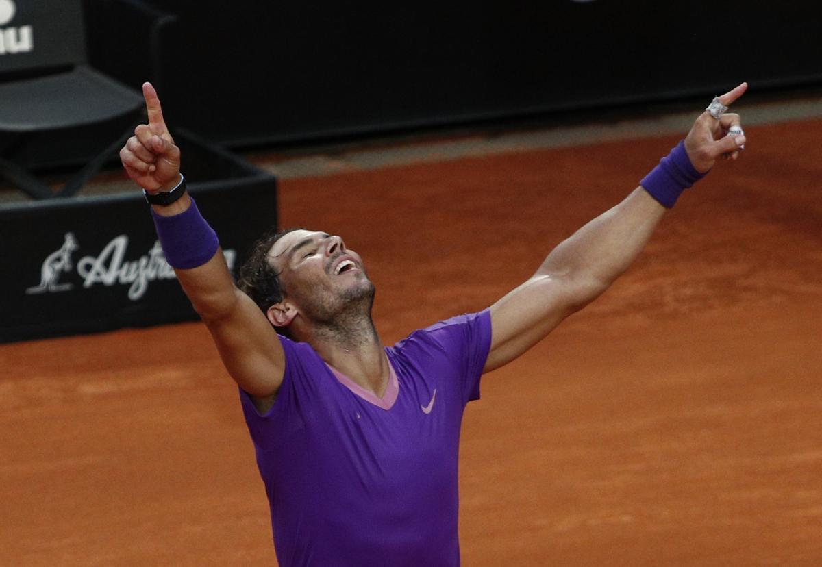 Rafael Nadal slavi naslov/Foto: REUTERS