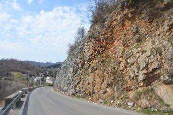 Dio prometnice na lokaciji Jama / Foto M. KRMPOTIĆ