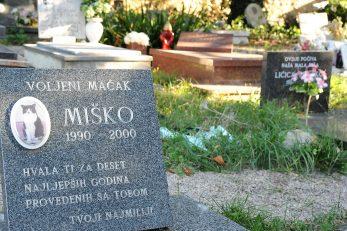 Groblje u Lukovićima jedno je od najstarijih grobalja kućnih ljubimaca u Europi / Foto S. DRECHSLER