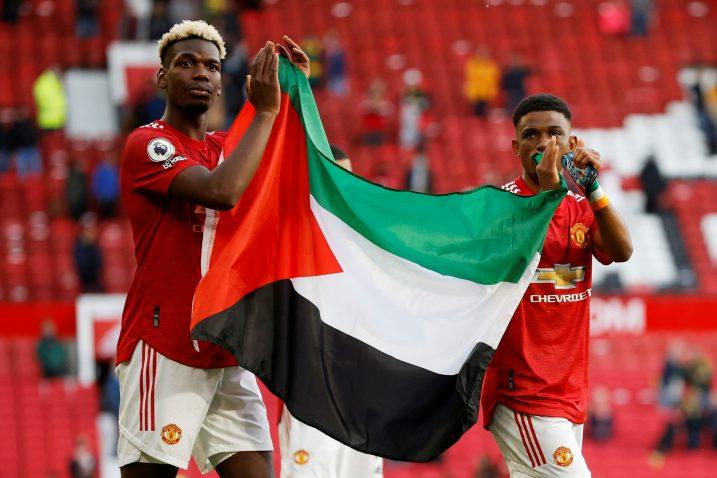 Paul Pogba i Amad Diallo/Foto REUTERS