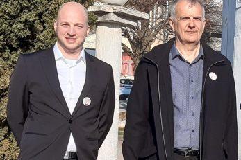 Vrijeme je za nove, mlade ljude - Edi Golik i Zoran Blažević / Foto S. GAŠPERT