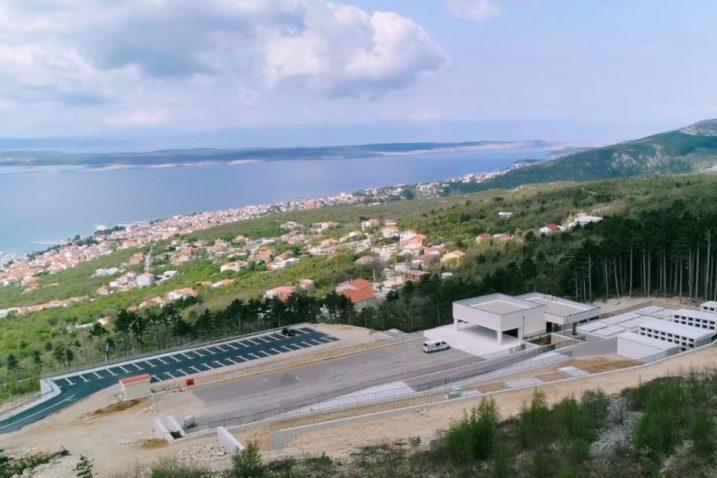 Novoizgrađeno groblje u Zoričićima