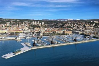 Vizualizacija nove riječke marine u Porto Barošu