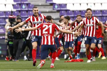 Slavlje igrača Atletico Madrida/Foto: REUTERS