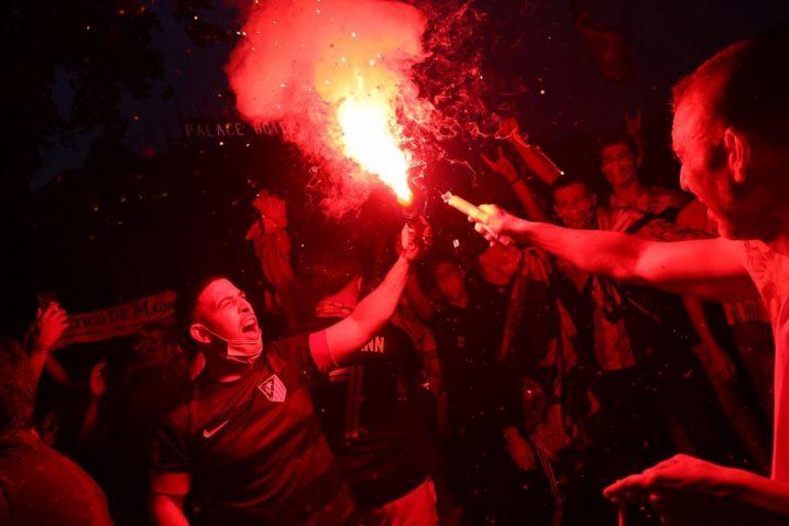 Slavlje navijača Atletico Madrida/Foto: REUTERS