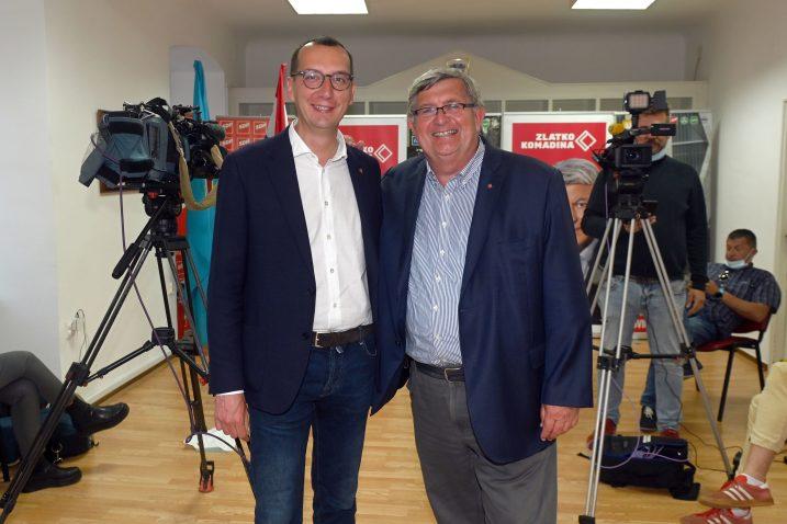 Marko Filipović i Vojko Obersnel, Foto: V. KARUZA