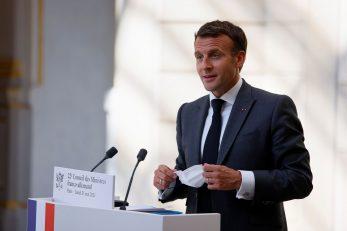 Emmanuel Macron / Reuters