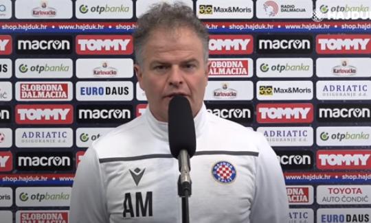 Pomoćni trener Hajduka Attila Malfatti/Foto Screenshot