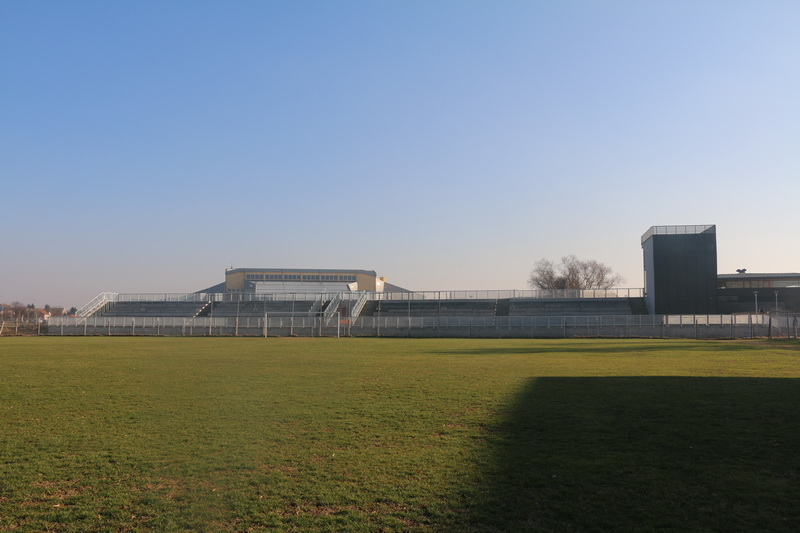 Stadion uz Savu NK Marsonia ispred kojeg se dogodio incident / Foto slavonski-brod.hr