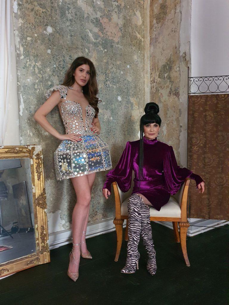 Mirna Naiia Marić i Matija Vuica / Foto Miss Universe Hrvatske
