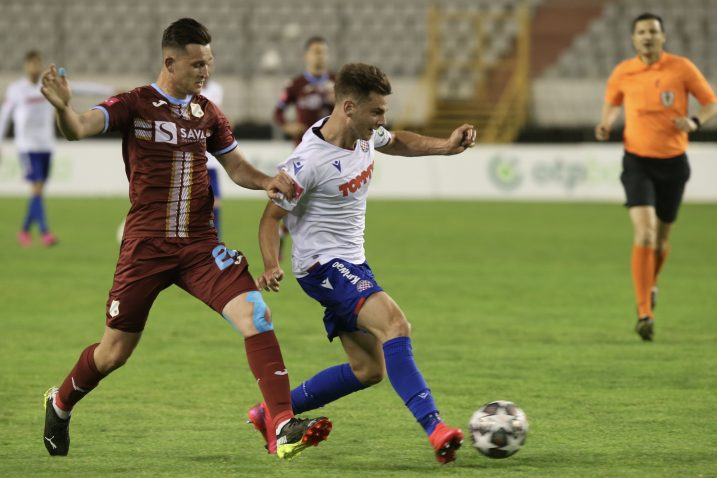 Danijel Štefulj odigrao je lošu partiju na Poljudu/Foto PIXSELL