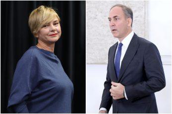 Sandra Benčić i Stjepo Bartulica / Foto Pixsell