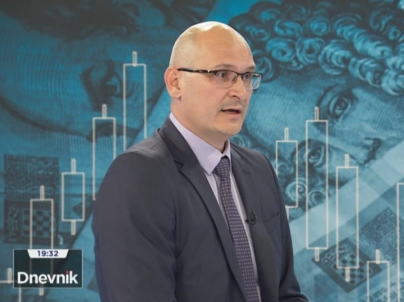 Božidar Kutleša, ravnatelj Porezne uprave / Foto Screenshot HRT
