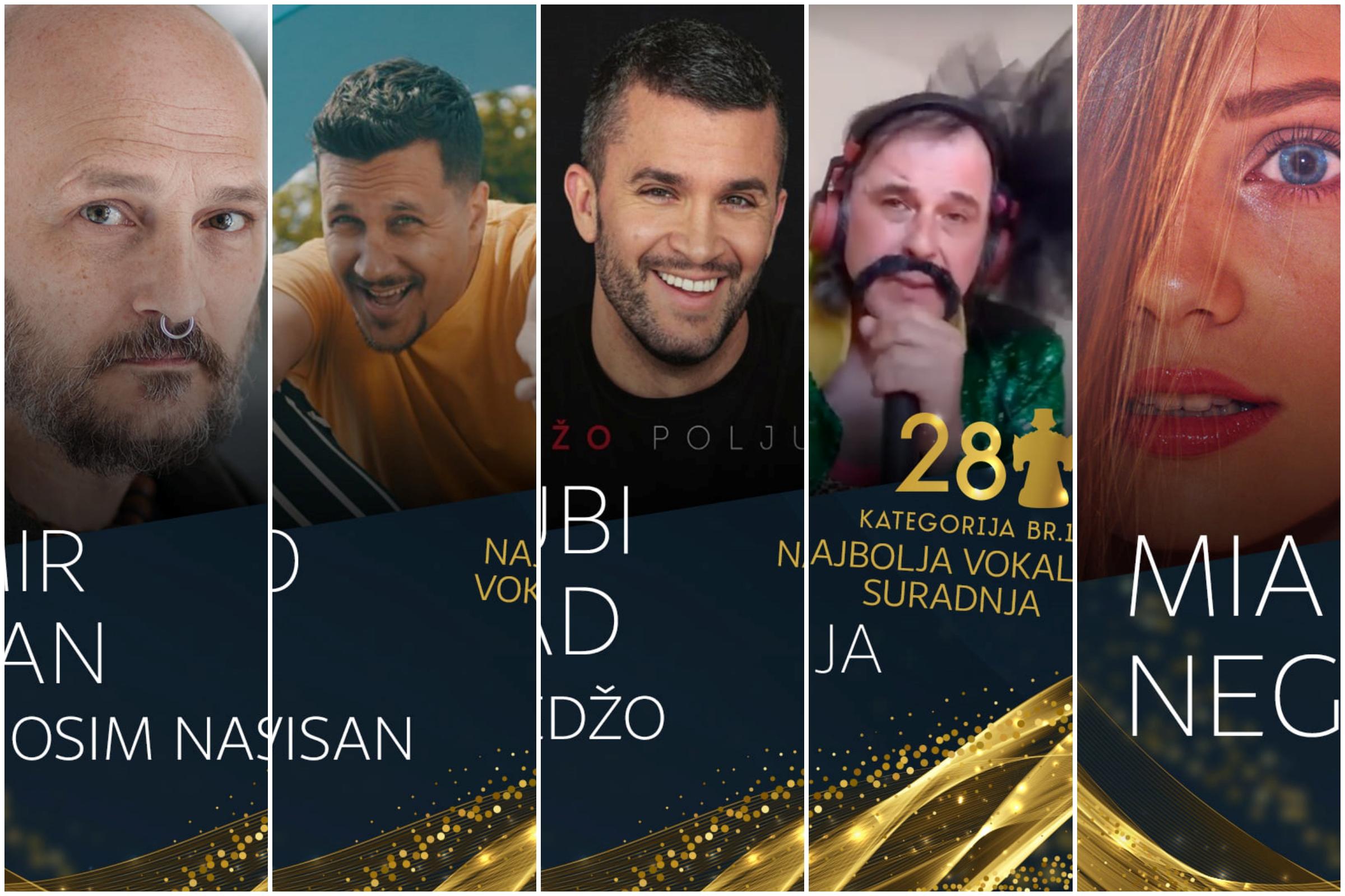 Riječki glazbenici nominirani za Porin