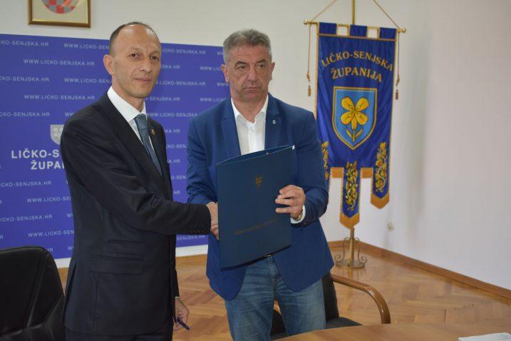 Ernest Petry i Darko Milinović / Foto Marin Smolčić