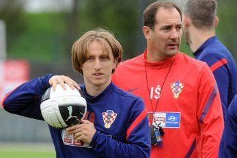 Luka Modrić i Igor Štimac/Foto Arhiva NL
