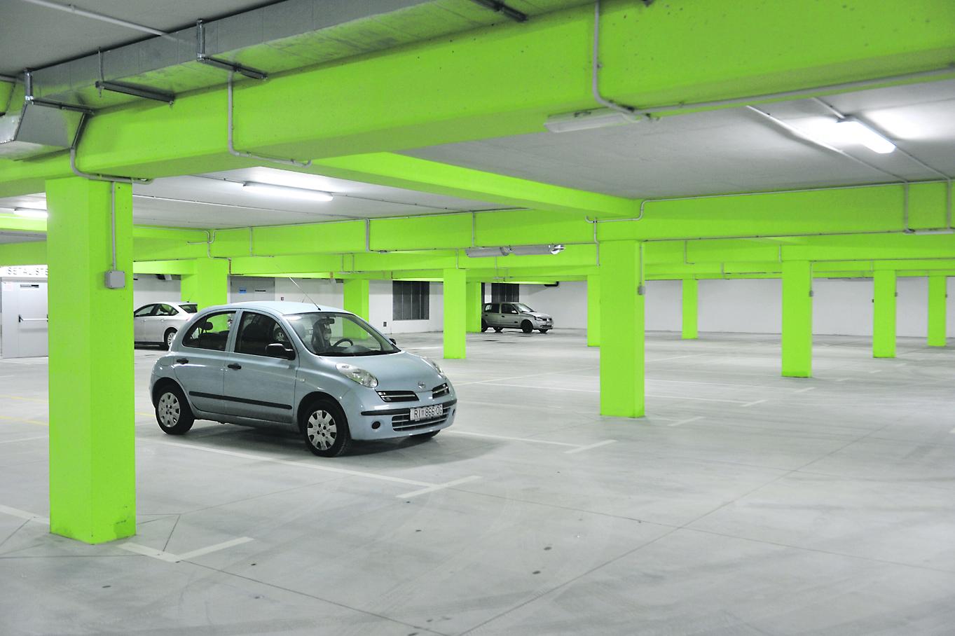 Garaža je od početka travnja u rukama kastavskog koncesionara, tvrtke Came Adriatic / NL arhiva