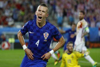 Ovako je Ivan Perišić proslavio gol Španjolcima u Bordeauxu/Foto REUTERS