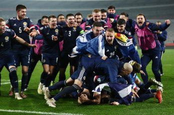 Nogometaši Škotske/Foto REUTERS
