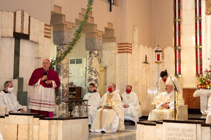 : Sa svečane proslave 50. obljetnice djelovanja Hrvatske katoličke misije Bl. Ivana Merza u Astoriji / Biskupija Krk