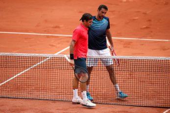 Marin Čilić i Roger Federer/Foto REUTERS