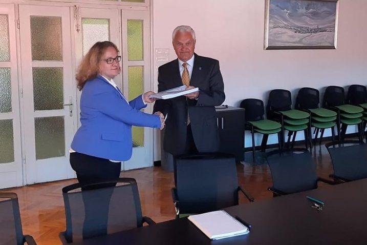 Katarina Mihelčić i Ivica Knežević / Foto Marinko Krmpotić
