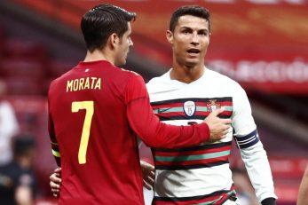 Cristiano Ronaldo i Alvaro Morata/Foto REUTERS