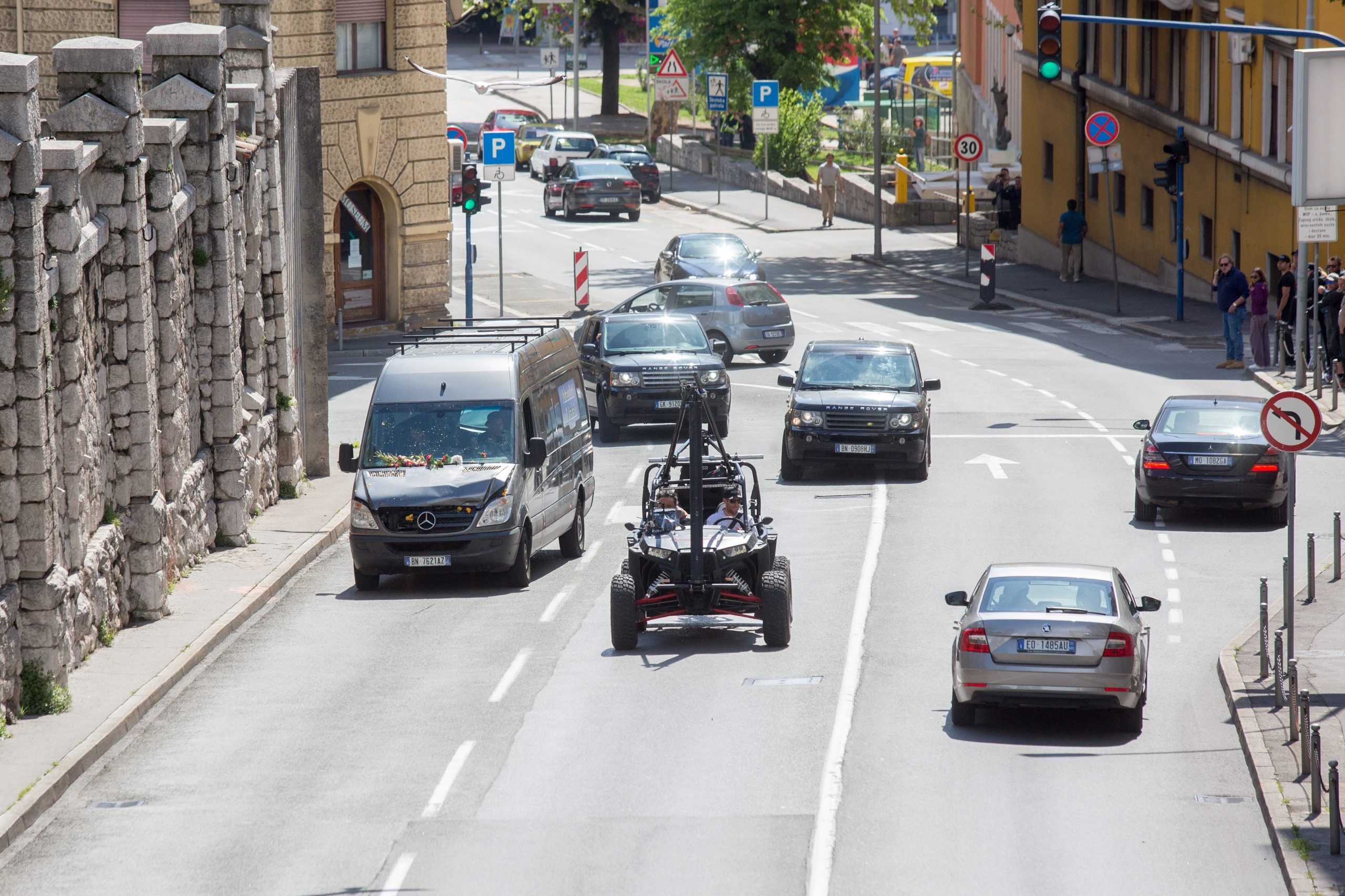 Akcija u blizini zatvora, Foto: NEL PAVLETIĆ/PIXSELL