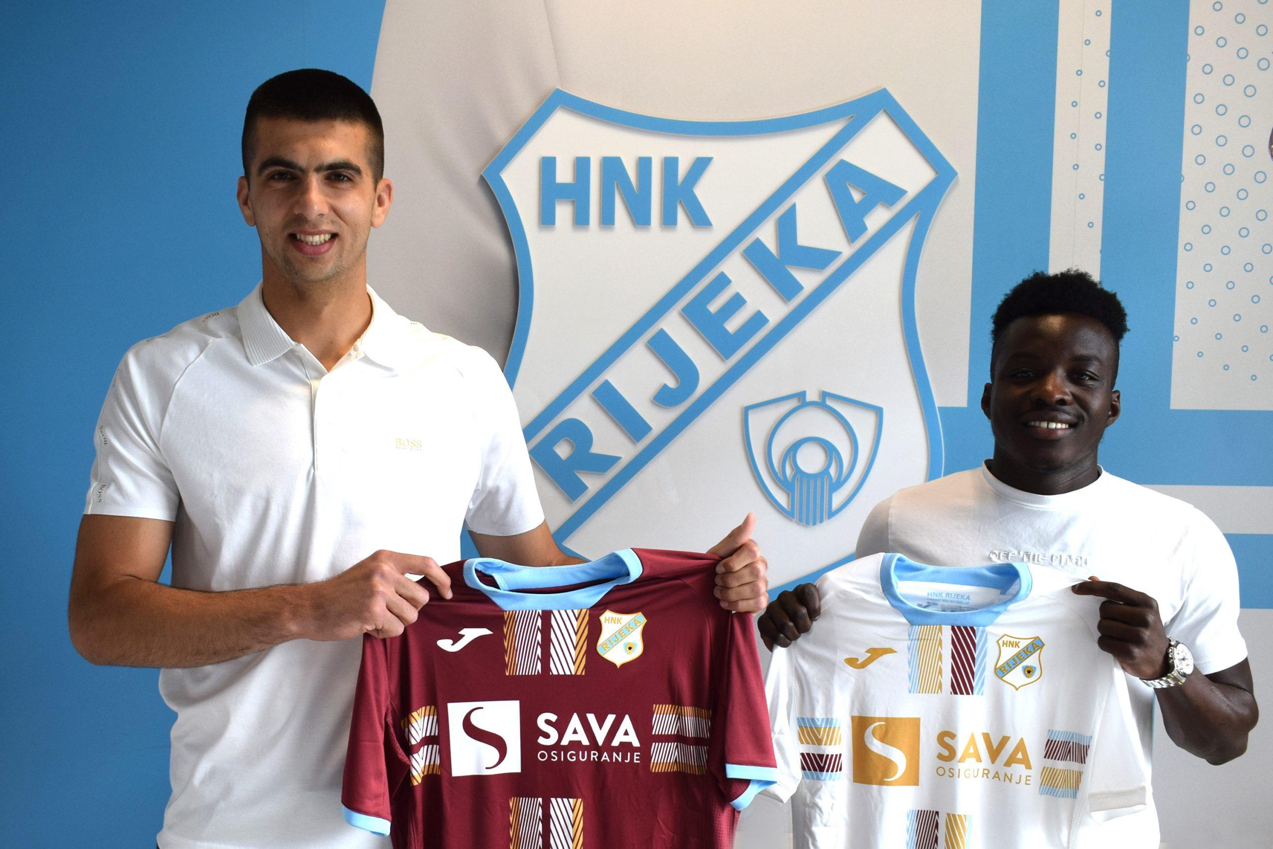 Nediljko Labrović i Prince Ampem/Foto HNK Rijeka